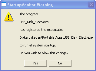 Statup Monitor Screenshot